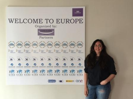 "VYRE attends a trianing in Madrid within the project ""Welcome to Europe"""